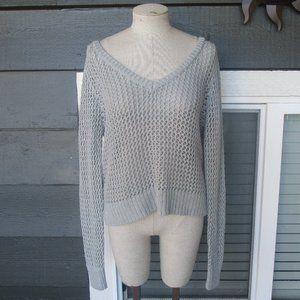 NWT Aeropostale womens gray Sweater sz XL